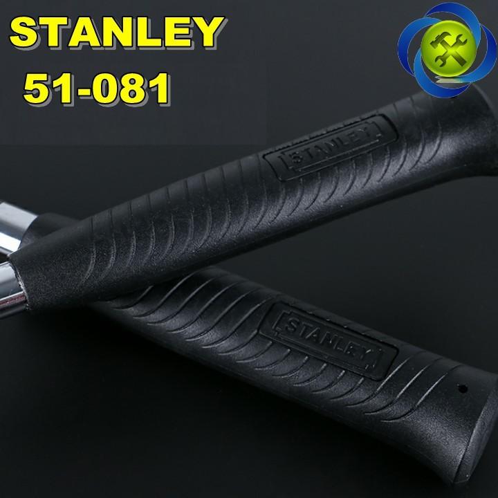 Búa nhổ đinh cán sắt Stanley 51-081 16oz-450g 2