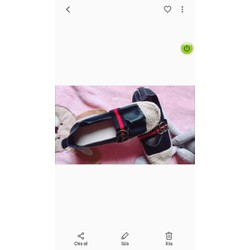 giày cói da