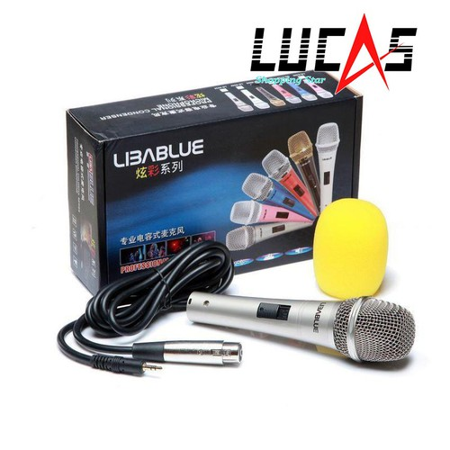 Micro Thu Âm Máy Tính LibaBlue 5800