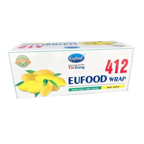 Màng bọc thực phẩm EUFOOD PVC Thailand Xoài EU412 30cm x 300m