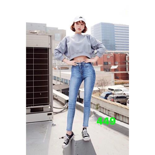 Quần jeans nữ dễ thương