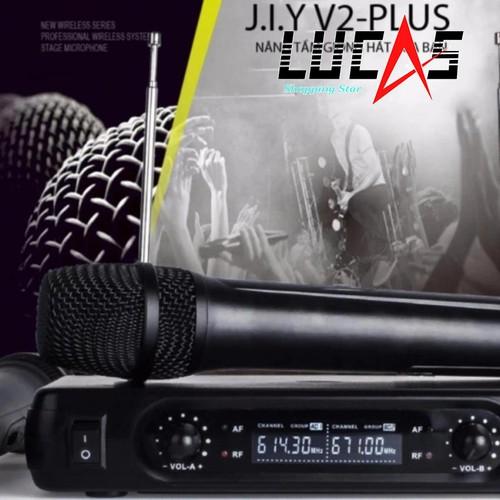 micro không dây karaoke J.I.Y V2 Plus