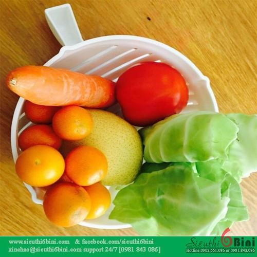 Rổ đựng rau củ quả 2 in 1