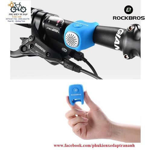 Còi điện xe đạp Rockbros Silica gel 90db