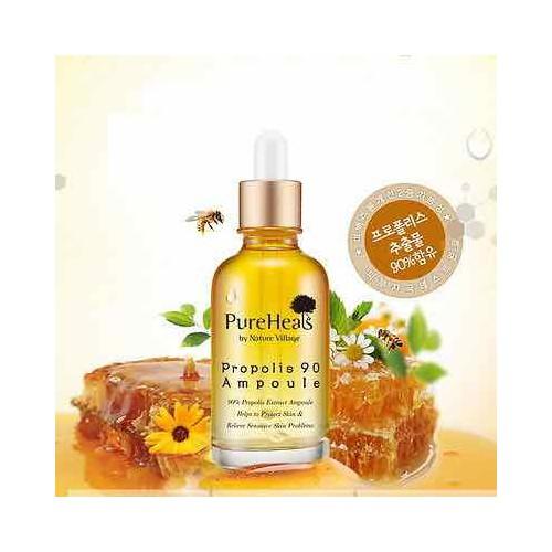 Tinh chất dưỡng da keo ong PureHeals Propolis 90 Ampule Hàn Quốc
