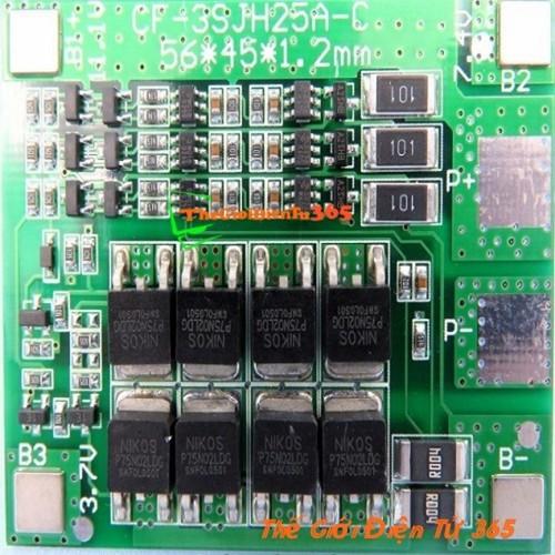 Mạch Sạc Và Bảo Vệ Pin 12V 3S 25A - 10882993 , 12272971 , 15_12272971 , 90000 , Mach-Sac-Va-Bao-Ve-Pin-12V-3S-25A-15_12272971 , sendo.vn , Mạch Sạc Và Bảo Vệ Pin 12V 3S 25A
