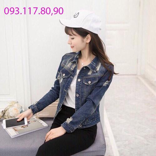 ⚡️[Sale] Áo Khoác Jeans Nữ HÀNG CAO CẤP