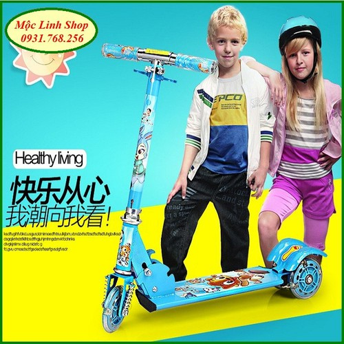 Xe trượt Scooter bánh led
