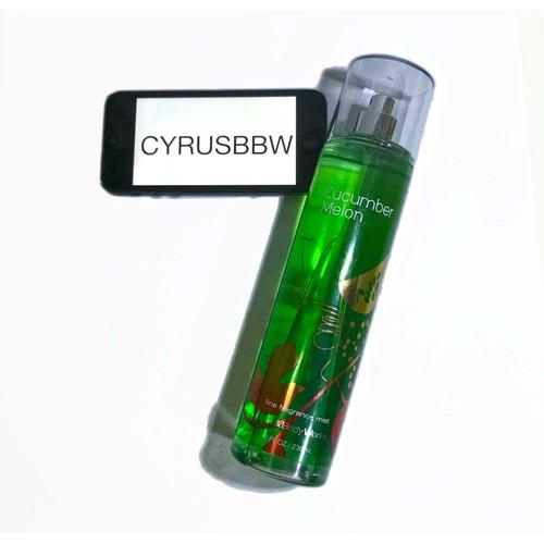 Xịt Toàn Thân Bath and Body Works Cucumber Melon 236ml Từ Mỹ