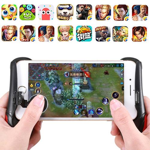Gamepad tay cầm chơi game HK53 có kèm nút hỗ trợ