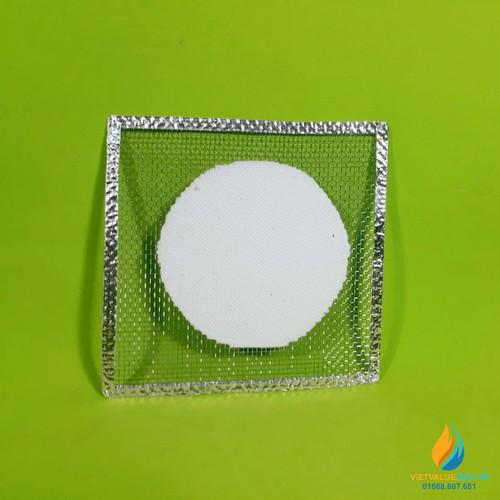 Lưới Amiang cách nhiệt viền bạc, kích thước 12x12cm