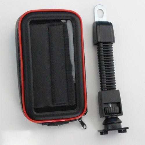 Giá đỡ điện thoại trên xe máy, chống nước Size XL
