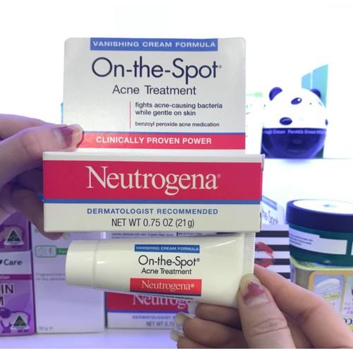 Kem Trị Mụn Neutrogena On-The-Spot Acne Treatment - 5797586 , 12276221 , 15_12276221 , 200000 , Kem-Tri-Mun-Neutrogena-On-The-Spot-Acne-Treatment-15_12276221 , sendo.vn , Kem Trị Mụn Neutrogena On-The-Spot Acne Treatment