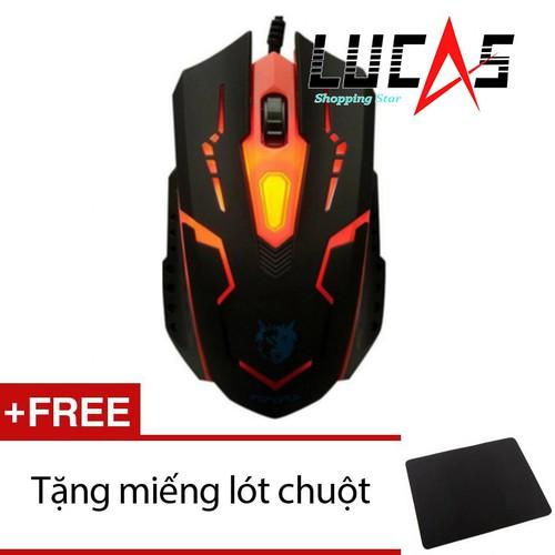 Chuột chơi game Fz X15 + Tặng miếng lót chuột - 5788817 , 12263874 , 15_12263874 , 120000 , Chuot-choi-game-Fz-X15-Tang-mieng-lot-chuot-15_12263874 , sendo.vn , Chuột chơi game Fz X15 + Tặng miếng lót chuột