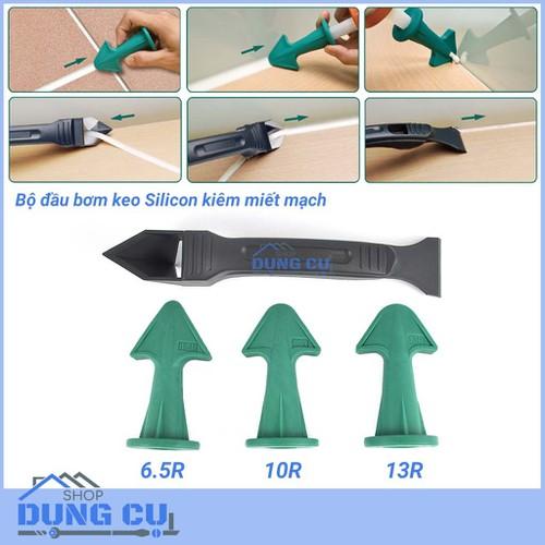 Bộ đầu bơm keo silicone kiêm chỉnh mạch kèm dụng cụ làm sạch - 5791532 , 12267158 , 15_12267158 , 259000 , Bo-dau-bom-keo-silicone-kiem-chinh-mach-kem-dung-cu-lam-sach-15_12267158 , sendo.vn , Bộ đầu bơm keo silicone kiêm chỉnh mạch kèm dụng cụ làm sạch