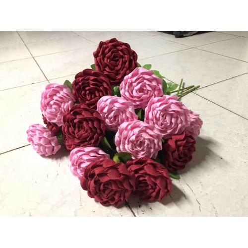Hoa hồng giấy nhún - 5799774 , 12279909 , 15_12279909 , 18000 , Hoa-hong-giay-nhun-15_12279909 , sendo.vn , Hoa hồng giấy nhún