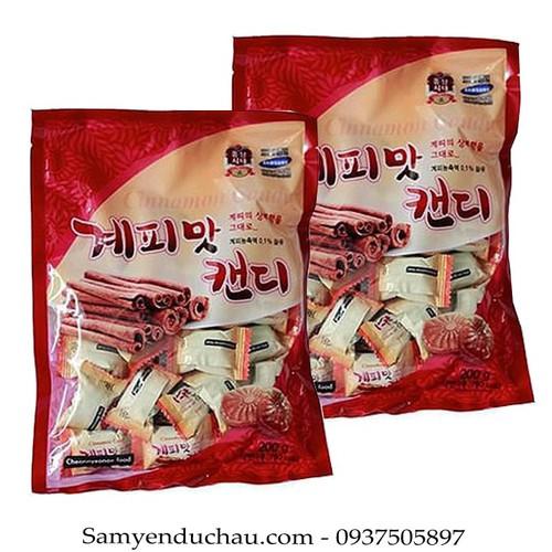 COMBO 2 Gói Kẹo Quế Cứng Hàn Quốc CHEONNYEONAE FOOD 200g loại 1 - 6869732 , 13589525 , 15_13589525 , 69000 , COMBO-2-Goi-Keo-Que-Cung-Han-Quoc-CHEONNYEONAE-FOOD-200g-loai-1-15_13589525 , sendo.vn , COMBO 2 Gói Kẹo Quế Cứng Hàn Quốc CHEONNYEONAE FOOD 200g loại 1