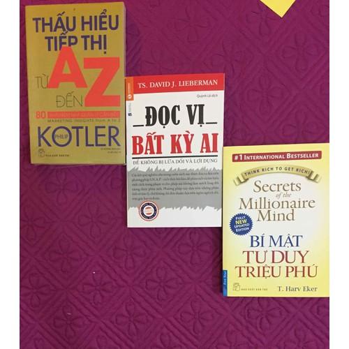 Sách combo thấu hiểu đọc vị bí mật tư duy