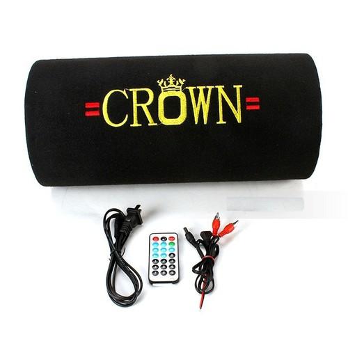 LOA CROWN 5INCH ĐẾ BẰNG CÓ CỔNG USB - THẺ NHỚ - BH 3 THÁNG