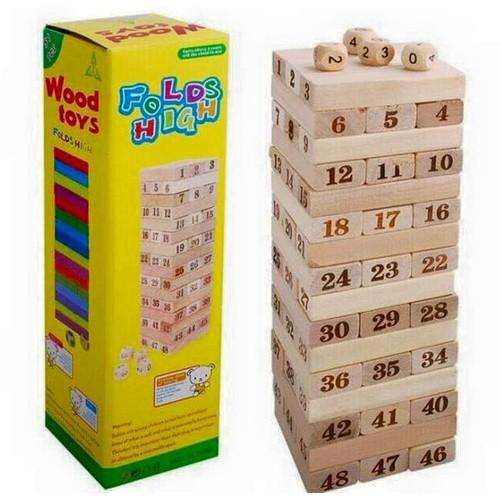 Bộ đồ chơi rút gỗ thông minh Wiss Toy - size to