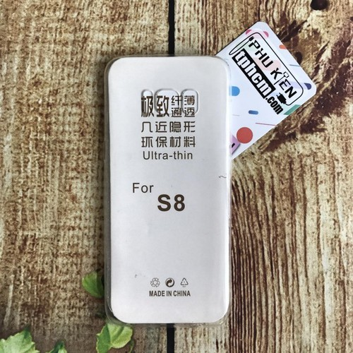 Ốp lưng Samsung S8 dẻo trong giá rẻ