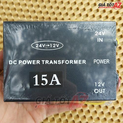 Bộ đổi nguồn 24V sang 12V cho xe ô tô cường độ 15A cho xe tải - 5806110 , 12287872 , 15_12287872 , 230000 , Bo-doi-nguon-24V-sang-12V-cho-xe-o-to-cuong-do-15A-cho-xe-tai-15_12287872 , sendo.vn , Bộ đổi nguồn 24V sang 12V cho xe ô tô cường độ 15A cho xe tải