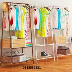 Giá treo quần áo-kệ treo đồ-kệ để đồ đa năng-tủ kệ treo quần áo