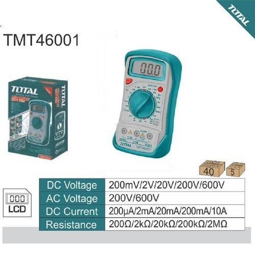 Đồng hồ đo điện vạn năng TOTAL TMT46001 - 5805576 , 12287152 , 15_12287152 , 299000 , Dong-ho-do-dien-van-nang-TOTAL-TMT46001-15_12287152 , sendo.vn , Đồng hồ đo điện vạn năng TOTAL TMT46001