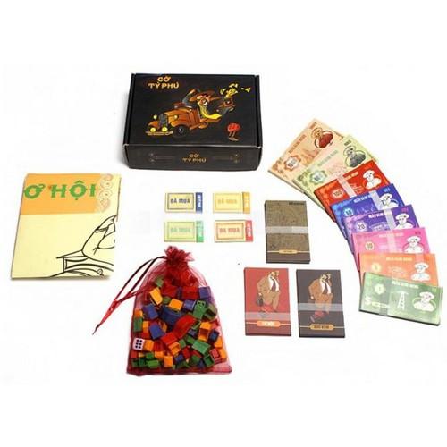 Cờ tỷ phú Việt Nam Board Game - 6181107 , 12736033 , 15_12736033 , 249000 , Co-ty-phu-Viet-Nam-Board-Game-15_12736033 , sendo.vn , Cờ tỷ phú Việt Nam Board Game