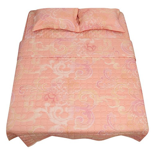 Bộ Ga chun trần gòn 160 x 200cm 3 món cotton Korea cao cấp Grand S151
