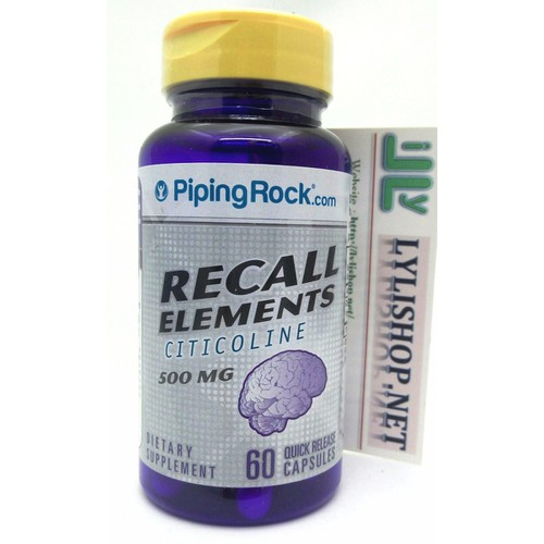 Viên uống Recall Elements 500MG