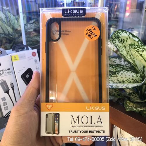 Ốp lưng iPhone XS Max Likgus Mola chống sốc - 5803428 , 12284206 , 15_12284206 , 170000 , Op-lung-iPhone-XS-Max-Likgus-Mola-chong-soc-15_12284206 , sendo.vn , Ốp lưng iPhone XS Max Likgus Mola chống sốc