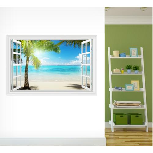 Decal trang trí khung cửa sổ 3D Cây Dừa ánh nắng - 4509478 , 12285612 , 15_12285612 , 85000 , Decal-trang-tri-khung-cua-so-3D-Cay-Dua-anh-nang-15_12285612 , sendo.vn , Decal trang trí khung cửa sổ 3D Cây Dừa ánh nắng