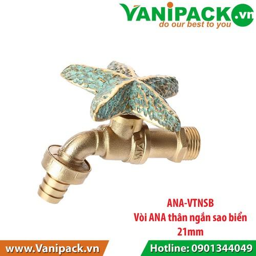 Vòi ANA thân ngắn sao biển 21mm ANA-VTNSB