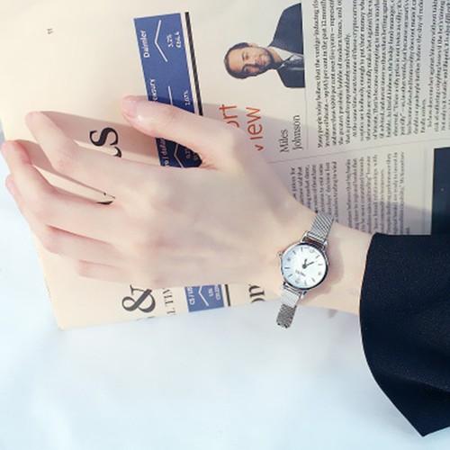 Đồng hồ nữ Huan S2 dây thép lụa chống gỉ thiết kế đơn giản trẻ trung - 5807939 , 12290304 , 15_12290304 , 110000 , Dong-ho-nu-Huan-S2-day-thep-lua-chong-gi-thiet-ke-don-gian-tre-trung-15_12290304 , sendo.vn , Đồng hồ nữ Huan S2 dây thép lụa chống gỉ thiết kế đơn giản trẻ trung