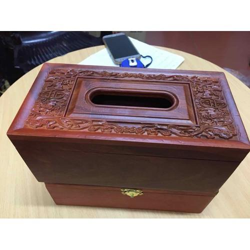 hộp đựng giẫy gỗ