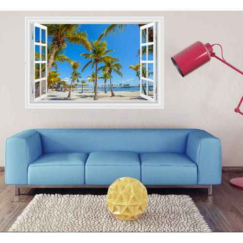 Decal trang trí cửa sổ 3D nhiều cây Dừa xen kẻ - 5804512 , 12285687 , 15_12285687 , 85000 , Decal-trang-tri-cua-so-3D-nhieu-cay-Dua-xen-ke-15_12285687 , sendo.vn , Decal trang trí cửa sổ 3D nhiều cây Dừa xen kẻ