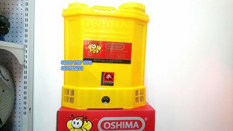Máy phun thuốc trừ sâu OSHIMA OS20-Bình xịt điện oshima os20 1