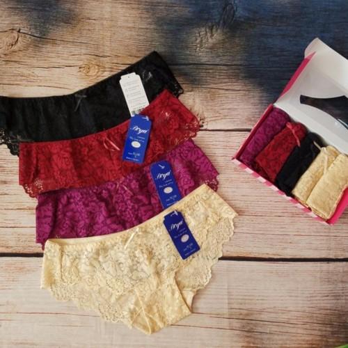 Set 5 quần lót ren boya