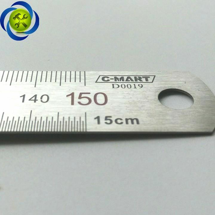 Thước lá C-MART D0019-150 150mm 3