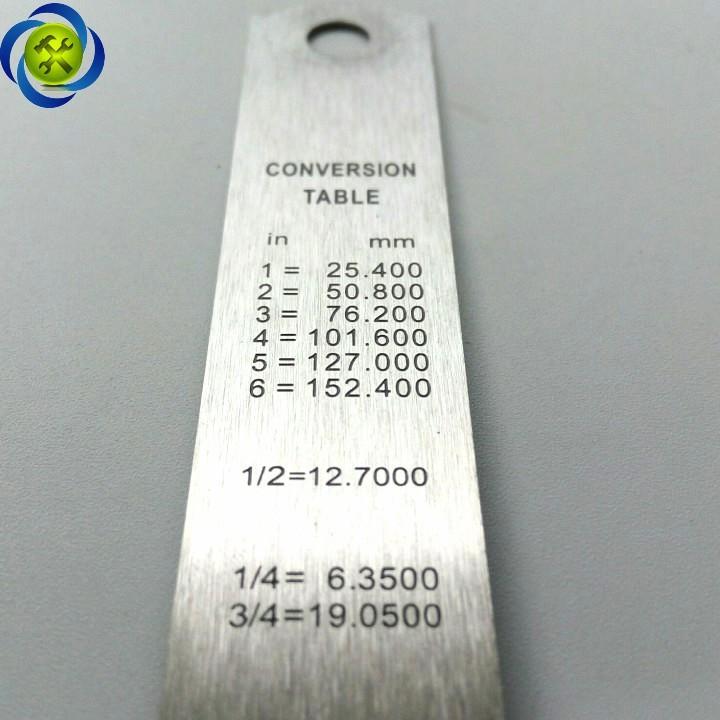 Thước lá C-MART D0019-150 150mm 4