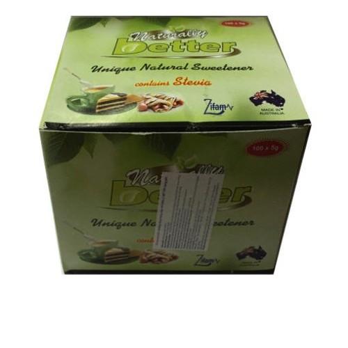 Đường năng lượng thấp Naturally Better – hộp 100 gói nhỏ x 5g