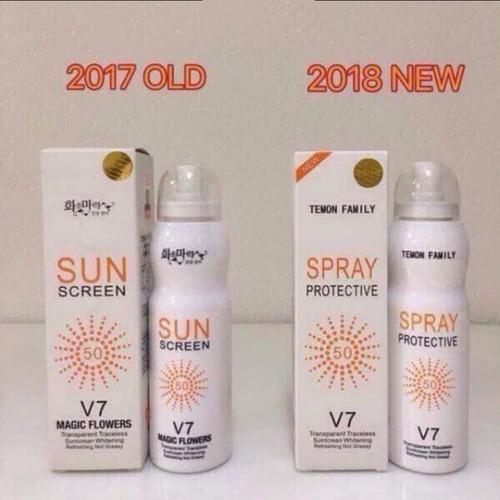 Xịt chống nắng Hàn Quốc spray V7