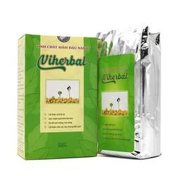 [KHUYẾN MÃI LỚN] Tinh chất mầm đậu nành Viherbal - giúp đẹp da cân bằng nội tiết tố - tăng và săn chắc vòng 1 - Hộp 500g
