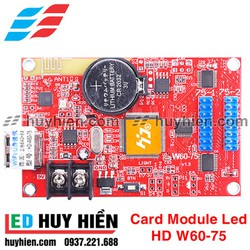Card module led HD W60-75 _USB & Wifi _ 2 tầng module led Fullcolor