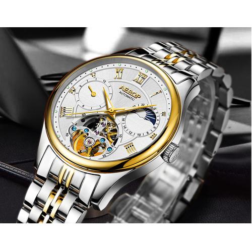 đồng hồ nam đồng hồ cơ nam chính hãng aesop - 4510488 , 12314076 , 15_12314076 , 5400000 , dong-ho-nam-dong-ho-co-nam-chinh-hang-aesop-15_12314076 , sendo.vn , đồng hồ nam đồng hồ cơ nam chính hãng aesop
