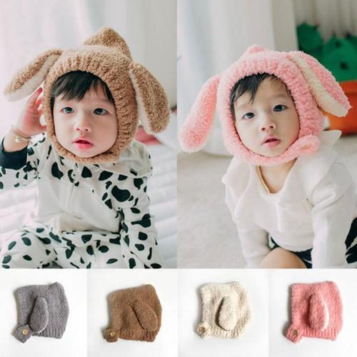 Mũ len cừu siêu yêu cho bé
