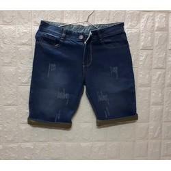 Quần shorts jeans thời trang cào xước vãi dầy đẹp size 28 đến 34  TJSF