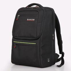 Balo laptop Sakos Guardian I14 Black