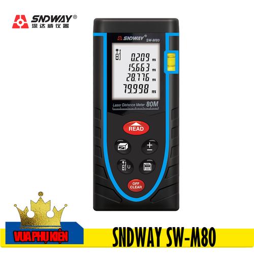Thước Đo Khoảng Cách Bằng Laser SNDWAY SW-M80